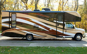 2 Bedroom RV Rental - 2 Bedroom RV Motorhomes for Rent