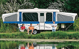 Pop Up Trailer Rentals