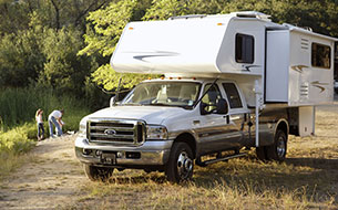 Truck Camper Wheelchair Accessible RV Rentals