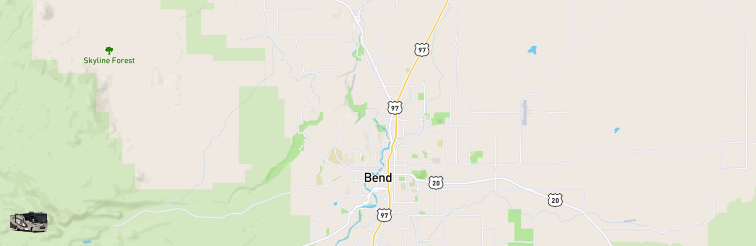 Class A RV Rentals Map Bend, OR