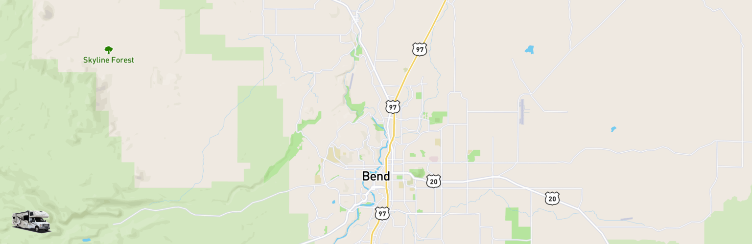 Class C RV Rentals Map Bend, OR