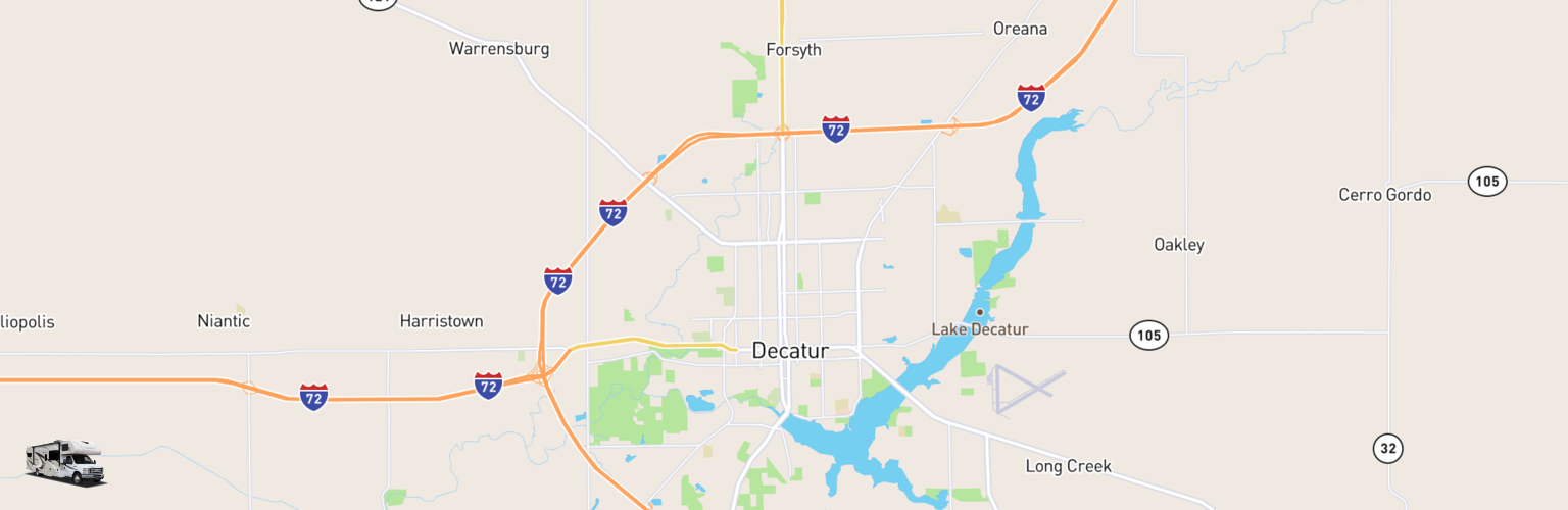 Decatur Illinois Map.Class C Rv Rental Decatur Il Compare Rates Reviews