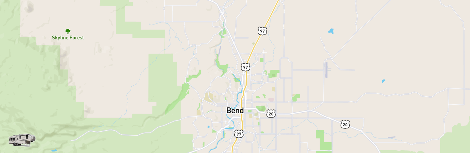 Fifth Wheel Rentals Map Bend, OR