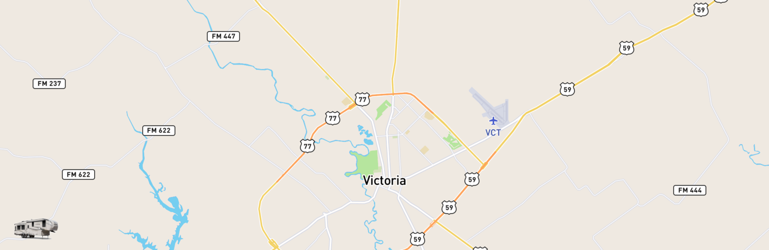 Fifth Wheel Rentals Map Victoria, TX