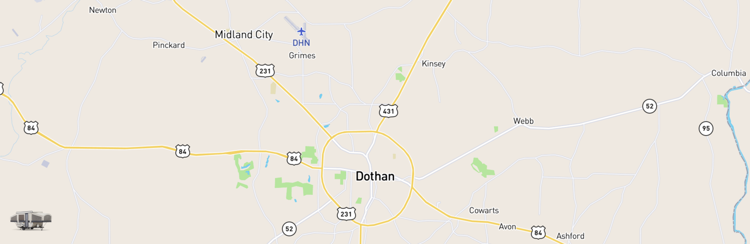 Pop Up Rental Dothan AL Compare Rates Reviews