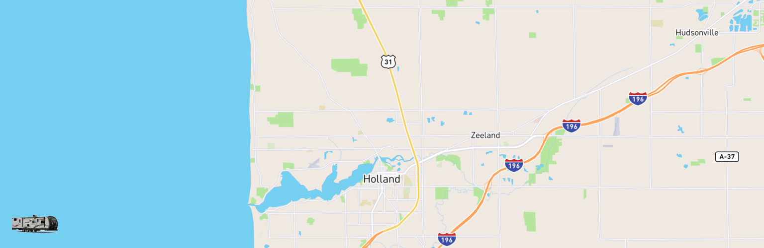 Travel Trailer Rentals Map Holland, MI