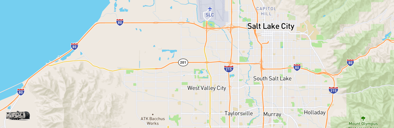 Travel Trailer Rentals Map West Valley City, UT